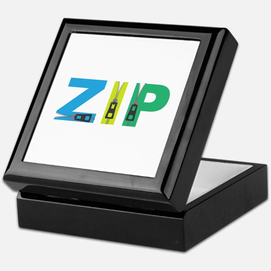 Zip Keepsake Box