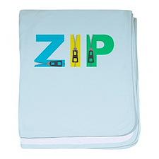 Zip baby blanket