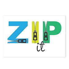 Zip It Postcards (Package of 8)