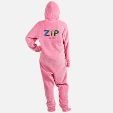 Zip It Up Footed Pajamas