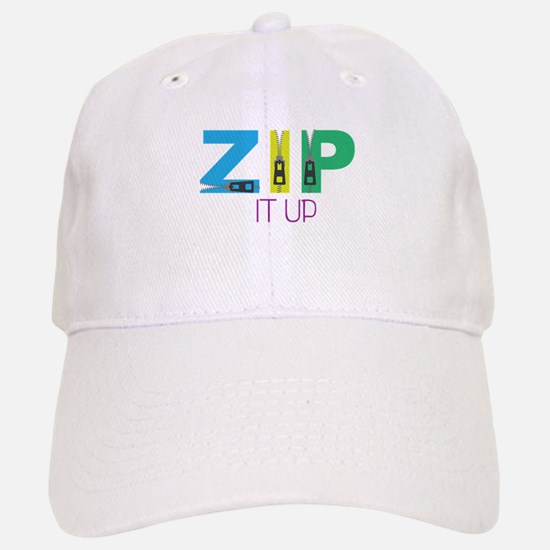 Zip It Up Baseball Baseball Baseball Cap