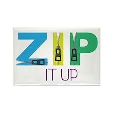 Zip It Up Magnets