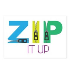 Zip It Up Postcards (Package of 8)