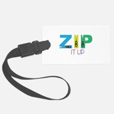 Zip It Up Luggage Tag