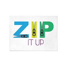 Zip It Up 5'x7'Area Rug