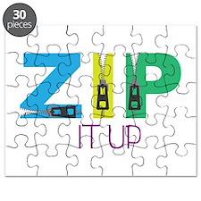Zip It Up Puzzle