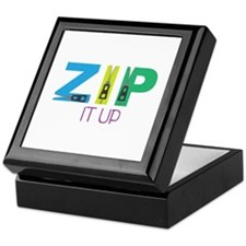 Zip It Up Keepsake Box