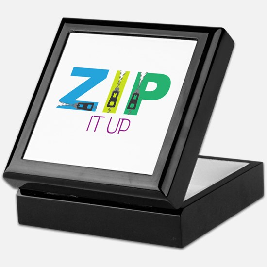 Zip It Up Keepsake Box