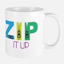 Zip It Up Mugs