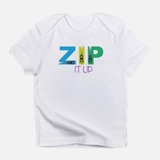 Zip It Up Infant T-Shirt
