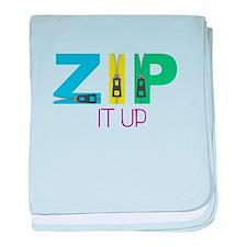 Zip It Up baby blanket
