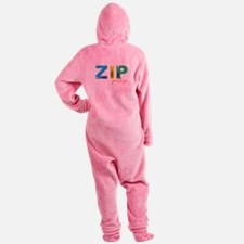Zip Your Lips Footed Pajamas