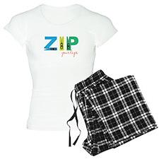 Zip Your Lips Pajamas