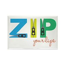 Zip Your Lips Magnets