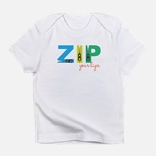 Zip Your Lips Infant T-Shirt