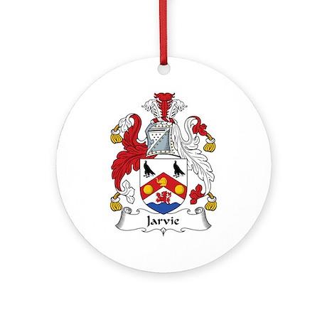Jarvie Ornament (Round)