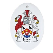 Jarvie Oval Ornament