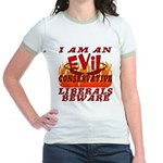 Evil Conservative Jr. Ringer T-Shirt