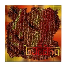 Buddha Mosaic Tile Coaster
