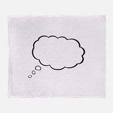 Thought Bubble Throw Blanket