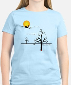 plane and tree T-Shirt
