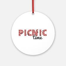 Picnic Time Ornament (Round)