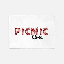 Picnic Time 5'x7'Area Rug