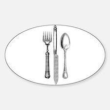 Vintage Cutlery Decal