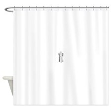 Vintage Cutlery Shower Curtain