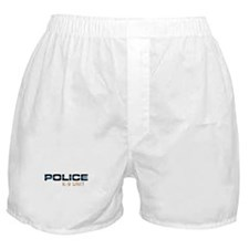 Police K-9 Unit Boxer Shorts