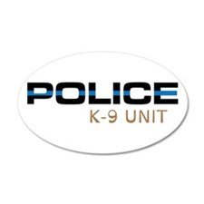 Police K-9 Unit Wall Decal