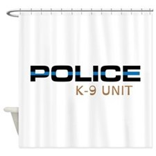 Police K-9 Unit Shower Curtain