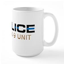 Police K-9 Unit Mugs