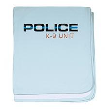 Police K-9 Unit baby blanket