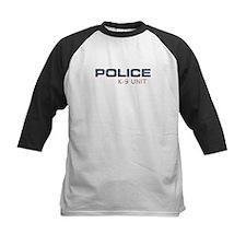 Police K-9 Unit Baseball Jersey