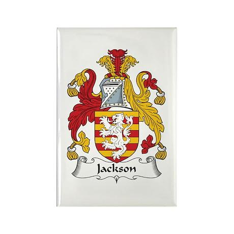 Jackson Rectangle Magnet (100 pack)