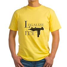 Legalize It! Mini Uzi light T-Shirt