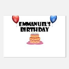 Emmanuel's Birthday Postcards (Package of 8)