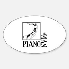 The Piano Man Decal
