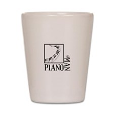 The Piano Man Shot Glass