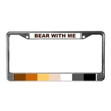 Cute Furry License Plate Frame