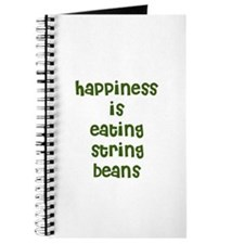 happiness is eating string be Journal
