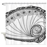 Abalone Shower Curtains