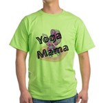 Yoga Mama Green T-Shirt