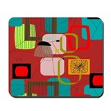 Atomic era Classic Mousepad