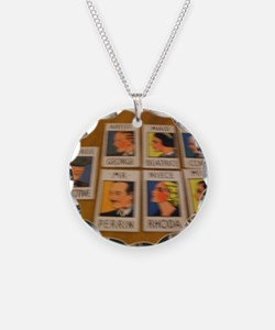Old game cards Necklace