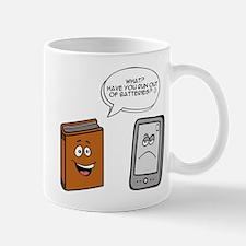 Book vs eBook Mugs