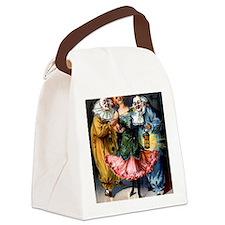 Unique Vintage carnival Canvas Lunch Bag
