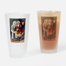 Cute Carnival Drinking Glass
