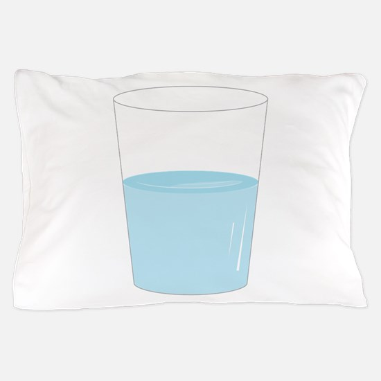 Glass Half Full Pillow Case